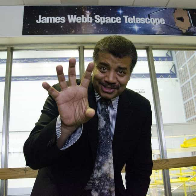 Neil Degrasse Tyson Thin... is listed (or ranked) 4 on the list Everything You Need to Know About the Holographic Universe Theory