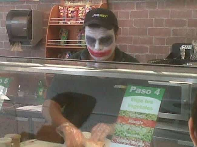 Want to See a Sandwich Magic T... is listed (or ranked) 4 on the list Meanwhile at Your Local Subway...