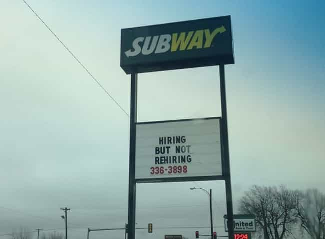 Hire Power is listed (or ranked) 2 on the list Meanwhile at Your Local Subway...