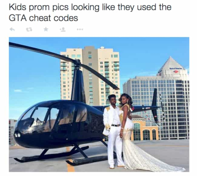 Chop Chop! is listed (or ranked) 1 on the list 20 Rich Kid Prom Pictures That Will Leave You Utterly Depressed