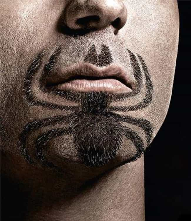 Spider-Stache is listed (or ranked) 2 on the list The Funniest Facial Hair Designs Ever