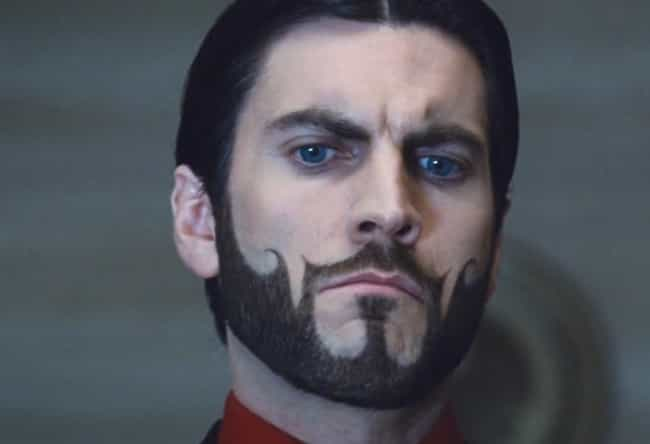 May the Beard Be Forever in Yo... is listed (or ranked) 4 on the list The Funniest Facial Hair Designs Ever