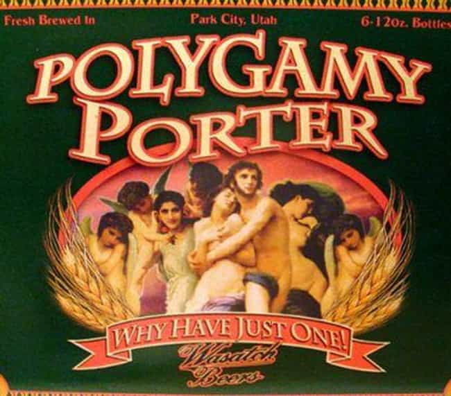 Meanwhile, in Utah... is listed (or ranked) 3 on the list The Funniest Beer Brand Names Ever