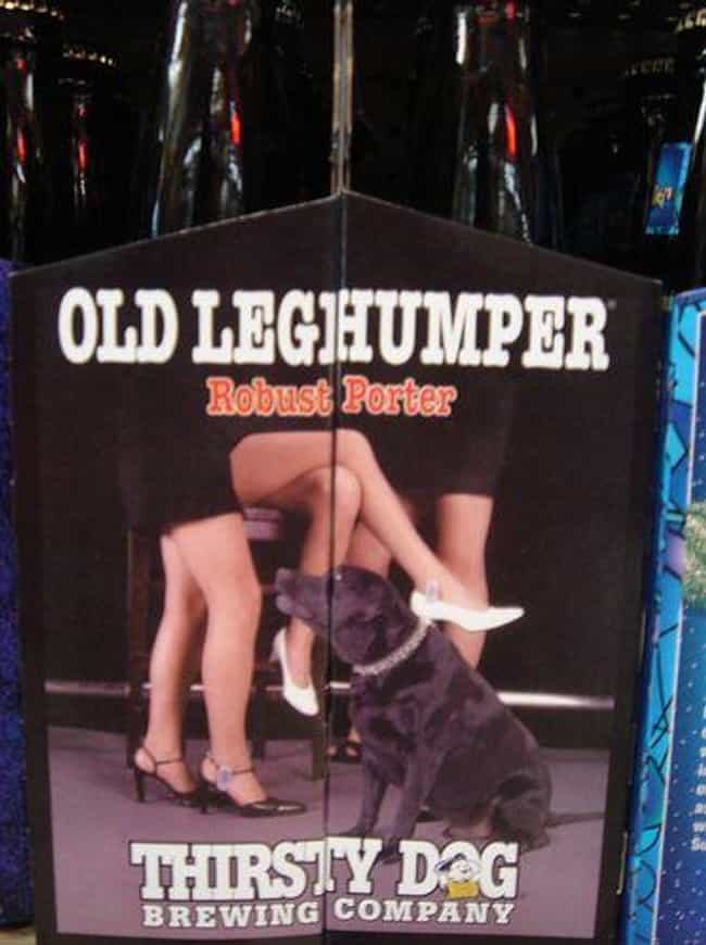 Hop, Skip, and a Hump is listed (or ranked) 2 on the list The Funniest Beer Brand Names Ever