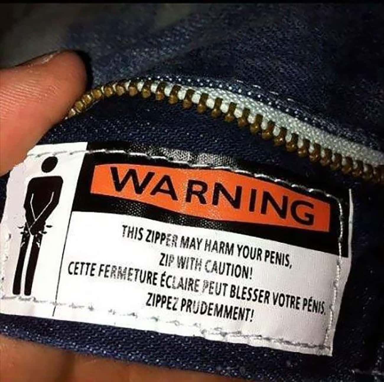 Cocky Clothing Tag is listed (or ranked) 4 on the list The Funniest Clothing Tags Ever