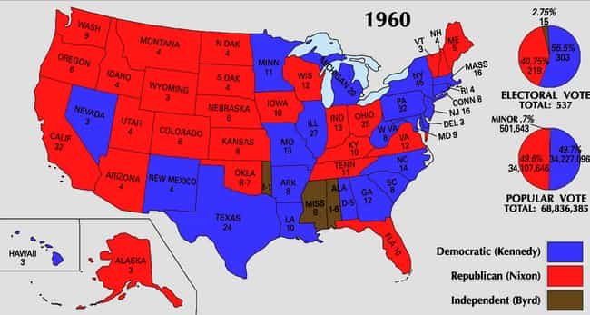 Ways The Major Political Parties In The US Are Different From - Map of us political parties