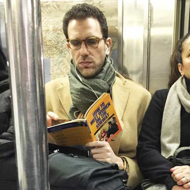 Ladies, Please... One at a Tim... is listed (or ranked) 2 on the list People Caught Reading Funny Things in Public