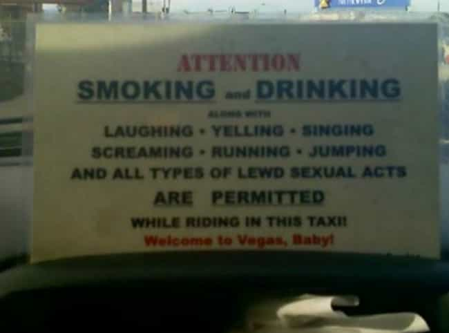 The Rules of Vegas is listed (or ranked) 3 on the list Hilarious Photos That Should Have Stayed in Vegas