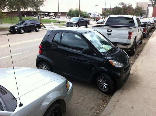 Smart Parking is listed (or ranked) 2 on the list The Funniest Moments in Smart Car History
