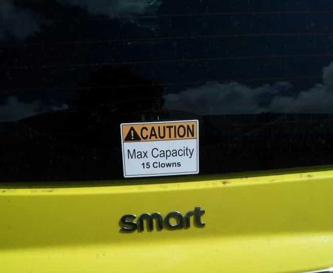 Send in the Clowns is listed (or ranked) 1 on the list The Funniest Moments in Smart Car History
