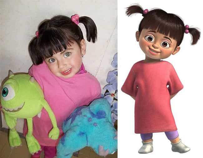My Boo is listed (or ranked) 4 on the list 25 Cartoon Doppelgangers Spotted In Real Life