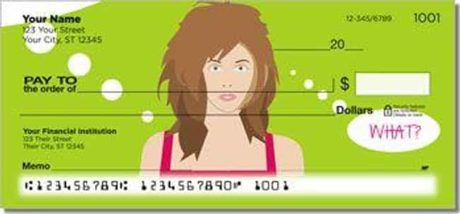 What Women Want? is listed (or ranked) 3 on the list The 16 Dumbest Personal Check Designs That No Adult Should Have