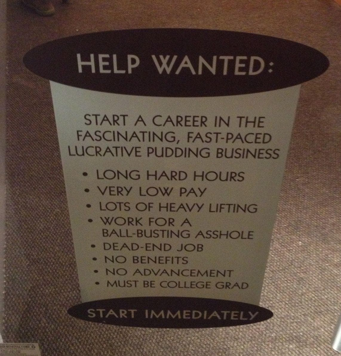 Random Hilarious Job Descriptions That Will Make You Happy You Don't Work There