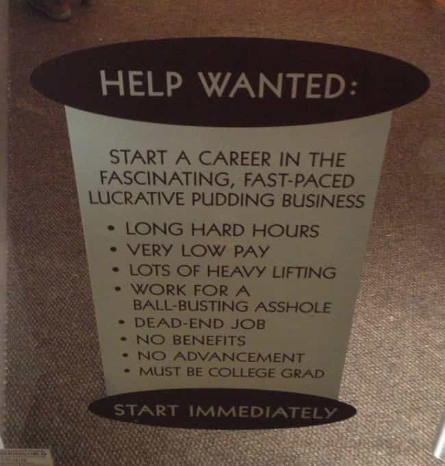 The 24 Funniest Job Descriptions Ever Spotted In The