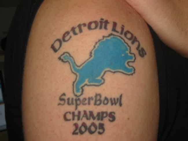 Super Bowl Chump is listed (or ranked) 4 on the list The Worst NFL Fan Tattoos Ever