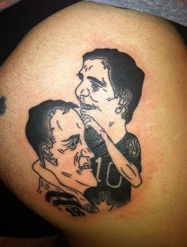 Meet the Mannings is listed (or ranked) 3 on the list The Worst NFL Fan Tattoos Ever