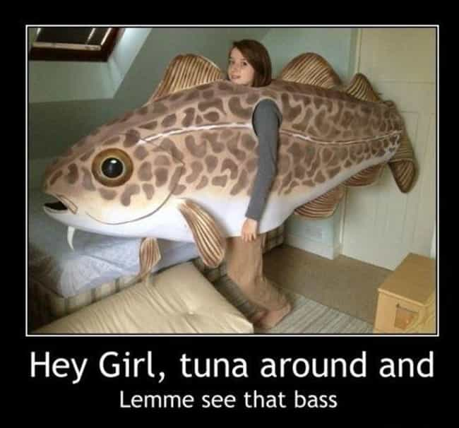 Dat Bass is listed (or ranked) 4 on the list The Absolute Funniest Fish Puns Ever