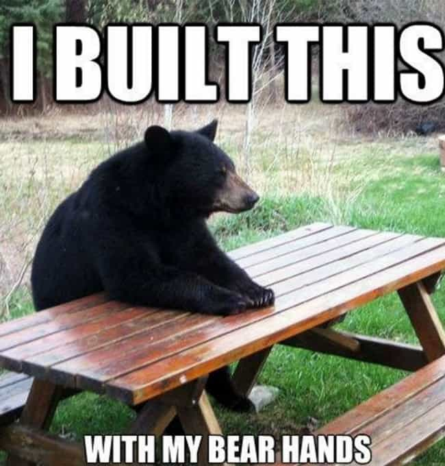 Just Grin and Bear It is listed (or ranked) 3 on the list The Absolute Funniest Animal Puns