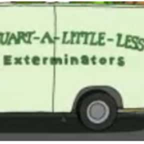 Stuart-A-Little-Less Extermina is listed (or ranked) 17 on the list Every Single Exterminator Van Pun on Bob's Burgers So Far
