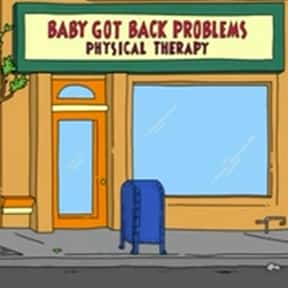 Baby Got Back Problems, Physical Therapy