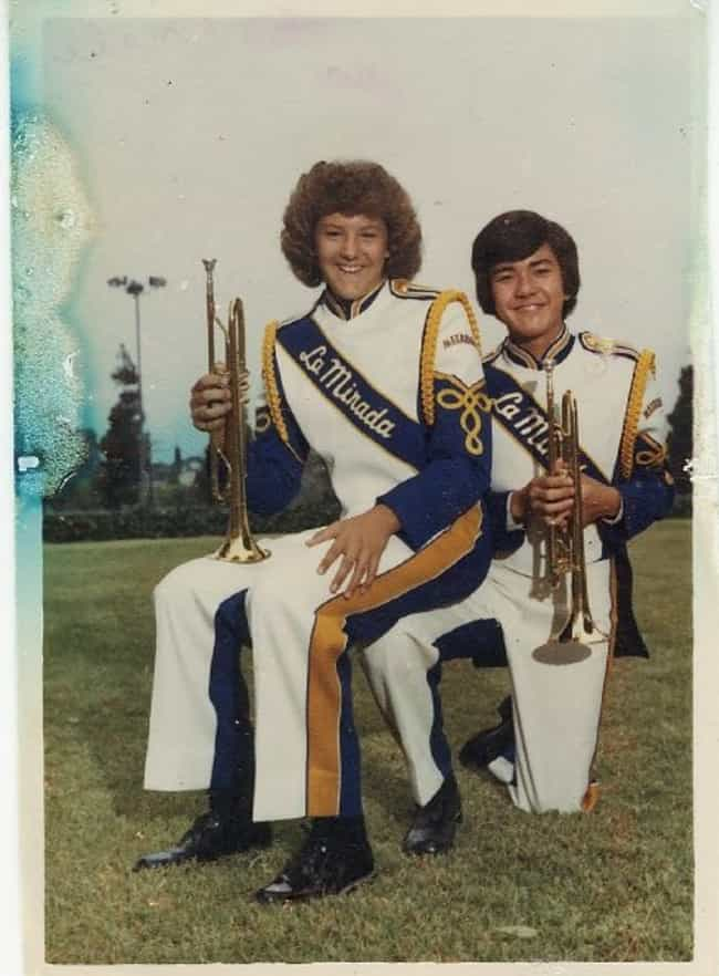 A Leg to Sit On is listed (or ranked) 4 on the list The Greatest Marching Band Glamour Shots Ever