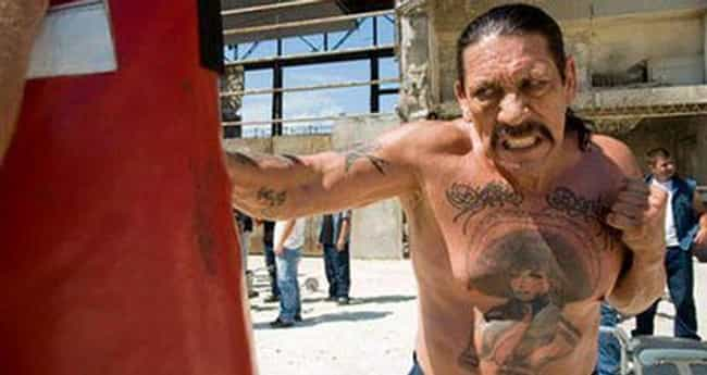 Goldberg is listed (or ranked) 4 on the list Danny Trejo's 21 Strangest B-Movie Roles