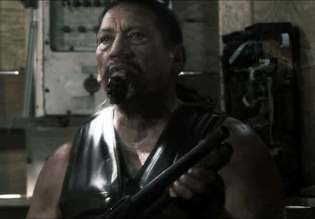 Captain Machine Gun is listed (or ranked) 4 on the list Danny Trejo's 21 Strangest B-Movie Roles