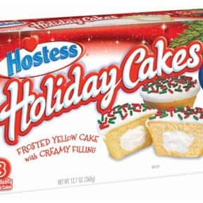 Hostess Holiday CupCakes is listed (or ranked) 18 on the list The Best Hostess Snacks