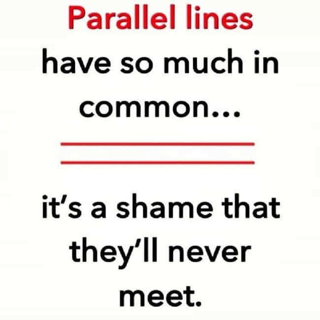 The Thin Red Line is listed (or ranked) 1 on the list The Funniest Math Puns You'll Ever See
