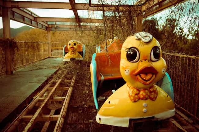 Rides to die for at Okpo Land ... is listed (or ranked) 3 on the list Terrifying Haunted Hiking Spots