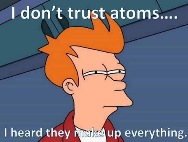 Atom and Eve is listed (or ranked) 4 on the list 19 Hilarious Puns for Chemists Everywhere