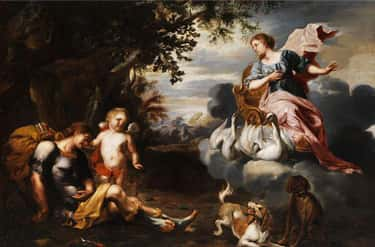 Aphrodite Took Adonis As A Lover After Turning His Mother Into A Tree