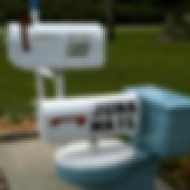 Mail Toilet Humor is listed (or ranked) 3 on the list Inappropriate Mailboxes That Could Only Happen in America