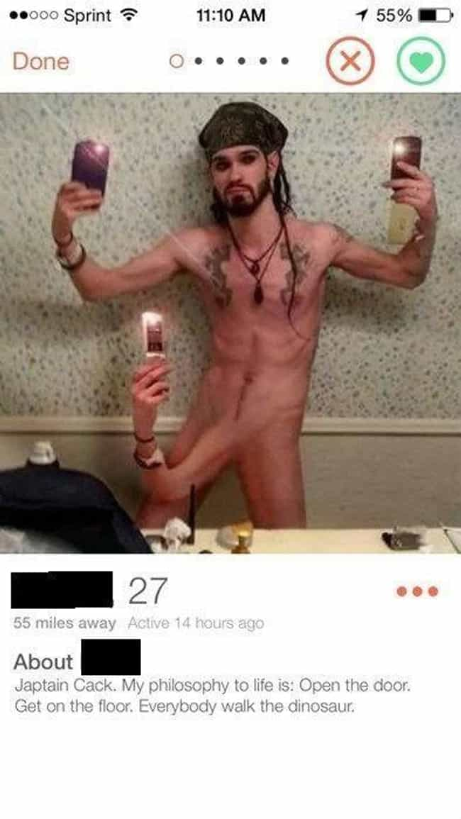 Where To Begin... is listed (or ranked) 1 on the list Hilariously Bad WTF Tinder Profiles