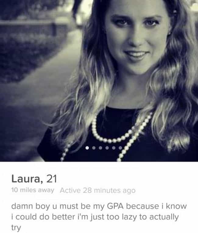 27 Hilariously Weird Tinder Profiles You'd Swipe Right on for the Heck of It