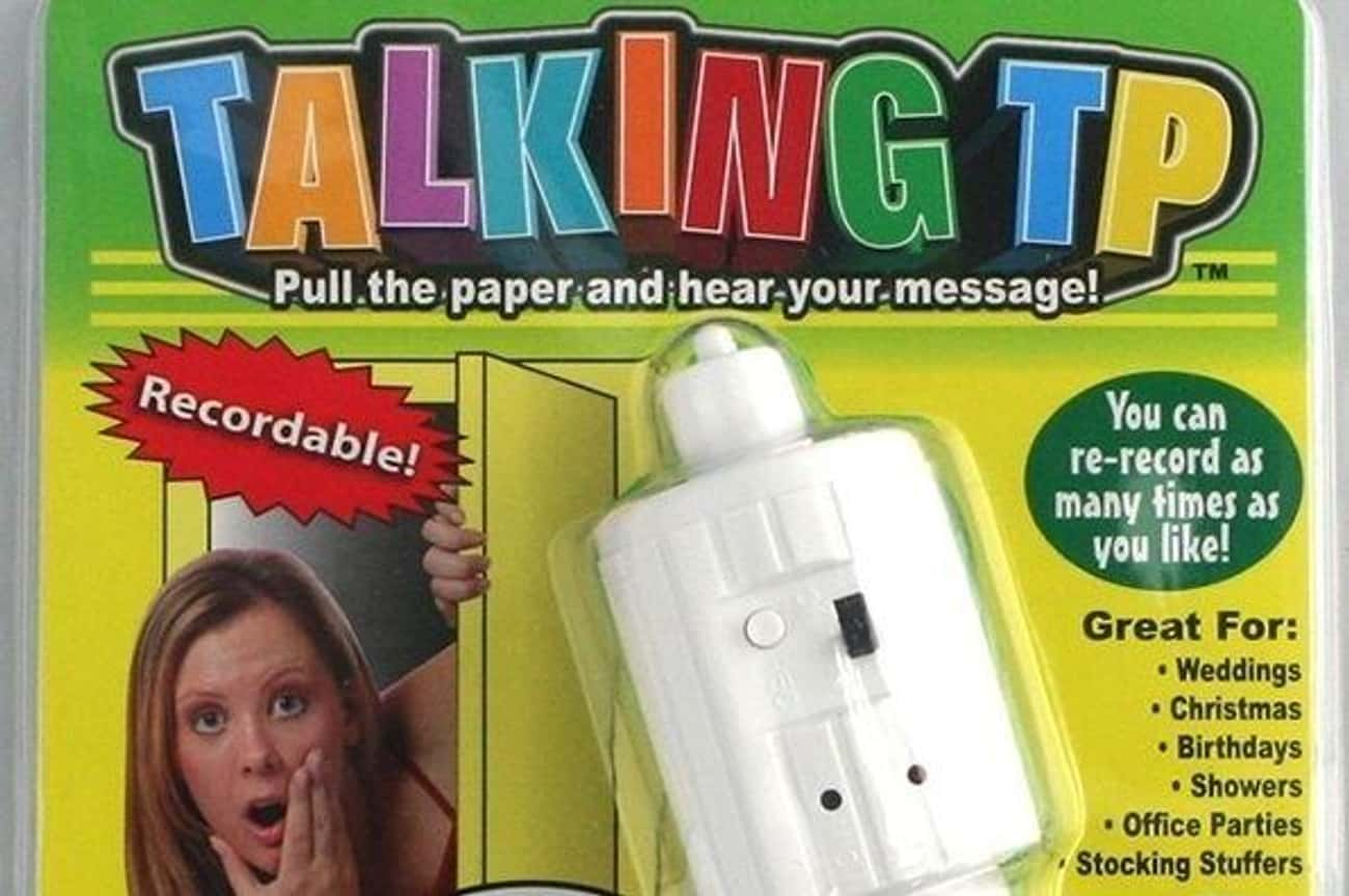 Toilet Talk is listed (or ranked) 3 on the list Inappropriate As Seen on TV Products That Would Make Great Gag Gifts