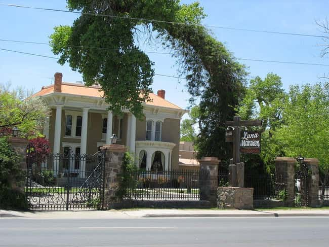Mansion Haunted by Former Owne is listed (or ranked) 6 on the list 18 Creepy Ghost Stories and Legends from New Mexico