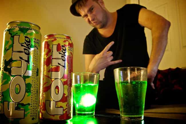 It Still Packs a Punch is listed (or ranked) 3 on the list Eye-Opening Things You Didn't Know About Four Loko