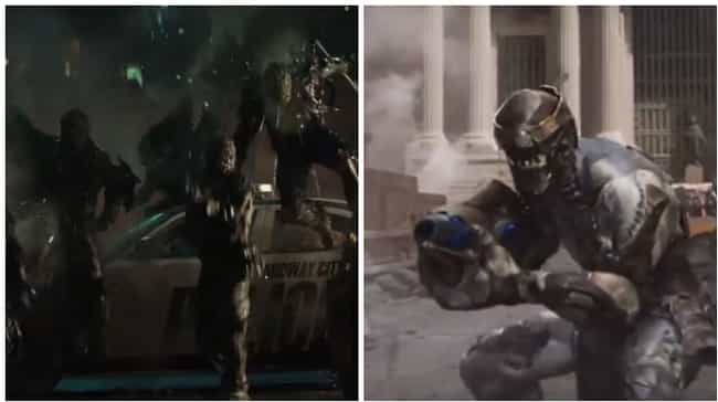 Chitauri-Style Minions is listed (or ranked) 3 on the list Ways Suicide Squad Ends Up Being Just Like a Marvel Movie