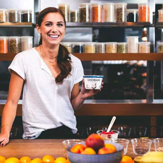 She Is One of the Highes... is listed (or ranked) 3 on the list Top Alex Morgan Facts You Should Know: Husband, Net Worth, and More