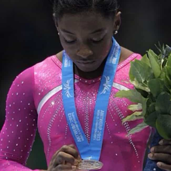 She Is the First African... is listed (or ranked) 3 on the list 10 Simone Biles Facts You Need to Know