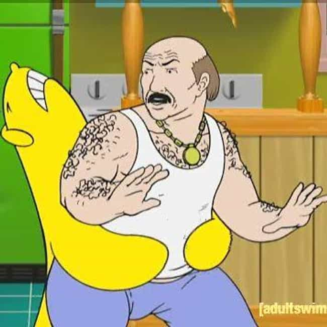 Cybernetic Ghost Of Christmas Past From The Future.18 Villains Who Prove Aqua Teen Hunger Force Is The Weirdest Show Of All Time