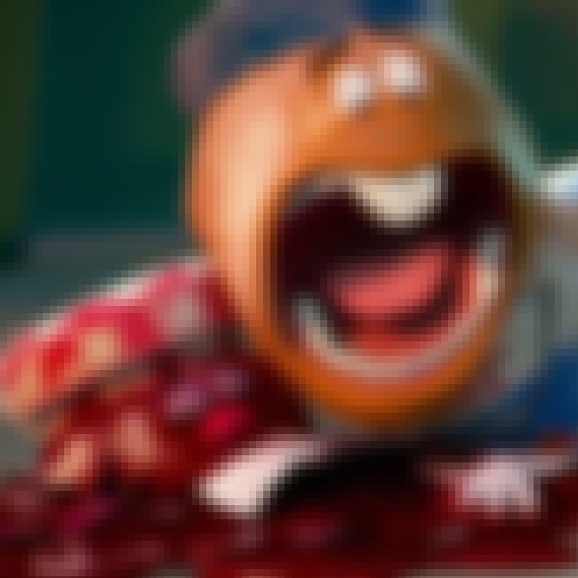 Accidentally Dropped a Few Thi... is listed (or ranked) 2 on the list Sausage Party Movie Quotes