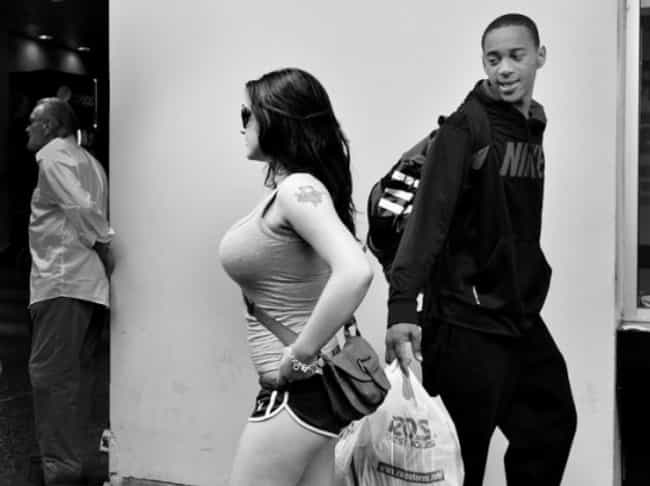This Shopper Checking Ou... is listed (or ranked) 1 on the list 17 Dudes Who Were Caught Checking Out Women