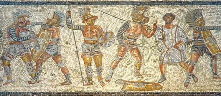 Gladiatorial Fights Started in Funeral Ceremonies