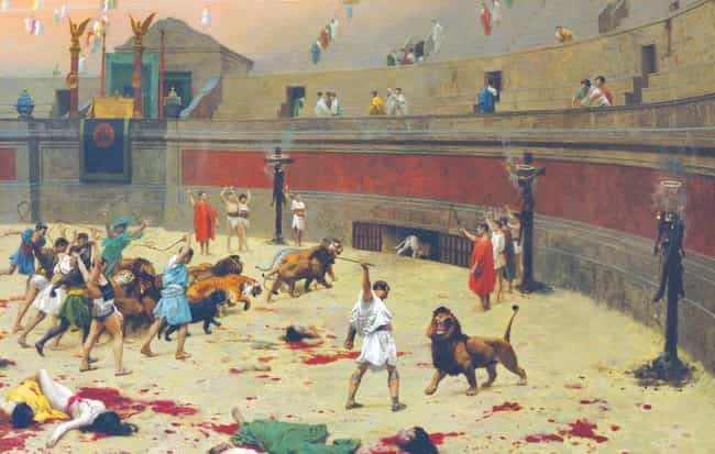 Fights Against Animals Were Ra... is listed (or ranked) 3 on the list Insane Facts You Didn't Know About What It Was Like Being a Roman Gladiator
