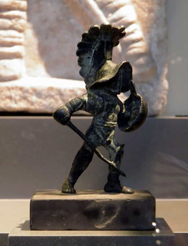 Some Gladiators Were Blindfold... is listed (or ranked) 2 on the list Insane Facts You Didn't Know About What It Was Like Being a Roman Gladiator