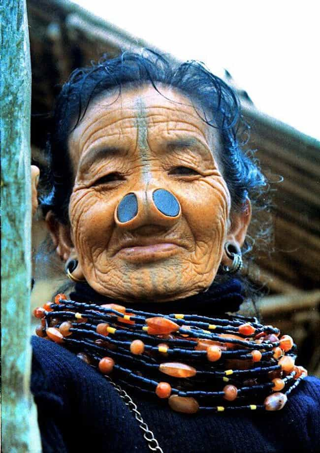 Nose Plugs is listed (or ranked) 3 on the list 16 Crazy Tribal Body Modifications from Around the World