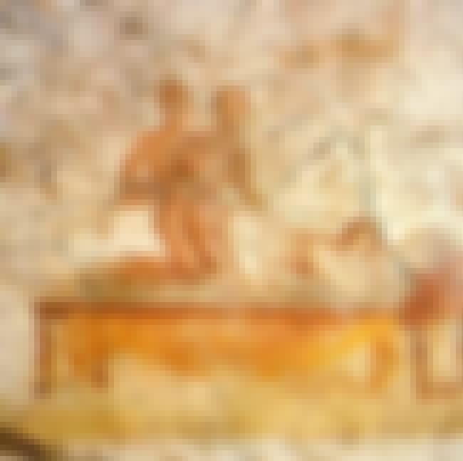 Fresco of Two Men and One Woma... is listed (or ranked) 4 on the list 21 Super Kinky Pieces of Ancient Sex Art You Won't Believe Are Real