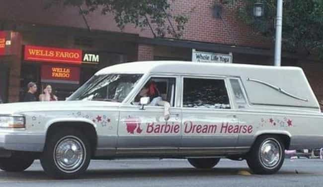 Come on Barbie, Let's Go B... is listed (or ranked) 2 on the list Funny Hearses You Wouldn't Be Caught Dead In
